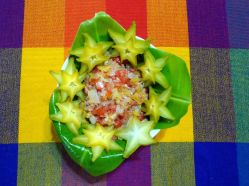 carambola 03 w tomato salad
