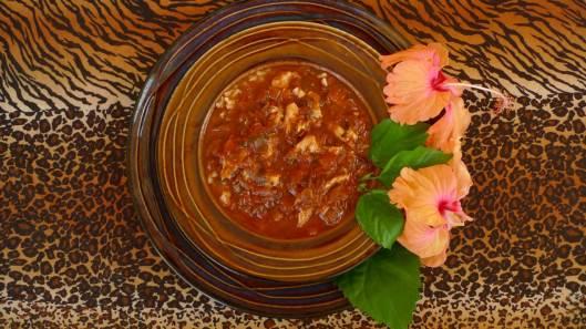 Hibiscus/Pescado Gumbo - Yum Yum!