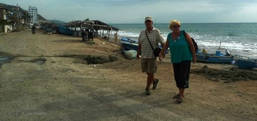 From 2012 - John and Mary in Cruzita Ecuador