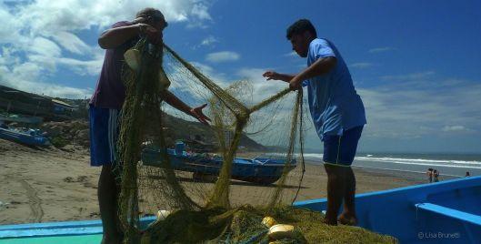 Cruzita Ecuador Fishermen