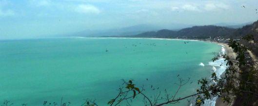 View of El Matal Ecuador