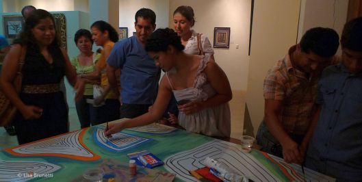 I Can Do This - Opening Reception/The Mola Series -Museo Cancebi - Manta, Ecuador 2012