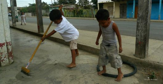 STREET SWEEPER JAVIER AND FRIENDS