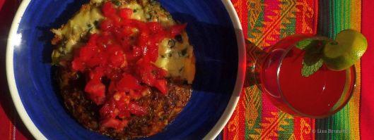 Quinouli Fritatta - Wow is this ever delicious!