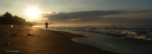 6 a.m. stroll - Playa San Miguel, CR
