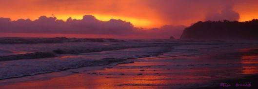 Arresting Sunset - Playa San Miguel, Costa Rica