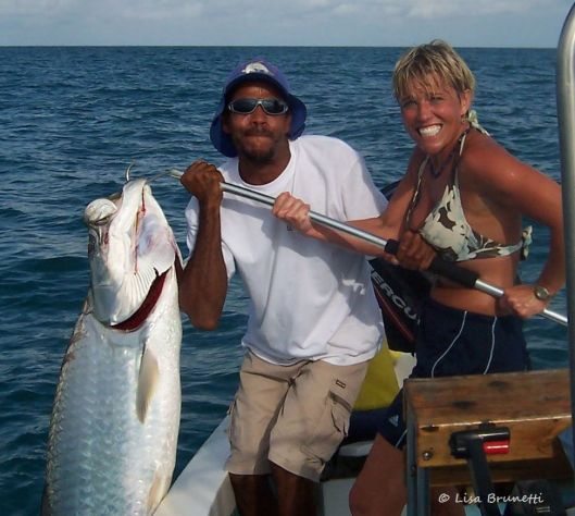 don KAREN KOEN, SPEEDY, AND KING TARPON
