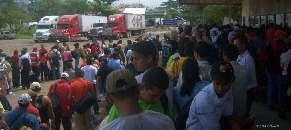 nicaragua border jan 12 2009