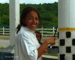 Artists Are Happy People! El Matal, Ecuador