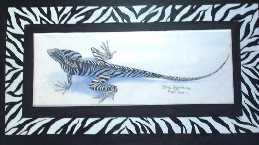 Zeeguana!  (Watercolor)