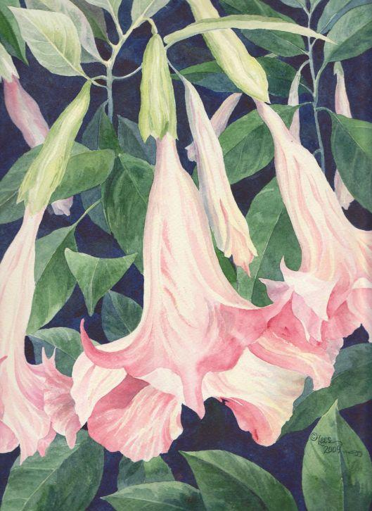 2012 Watercolor by Lisa Brunetti