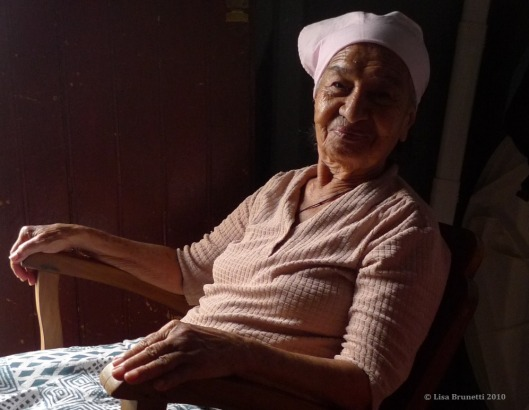 """""""Oh, to be 90!""""  What a serene smile!  (San Juan del Sur, Nicaragua)"""
