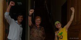 """I LOVE MY JOB!"" Mueso Cancebi - Manta Ecuador - Angel, Jacqueline, Francess"