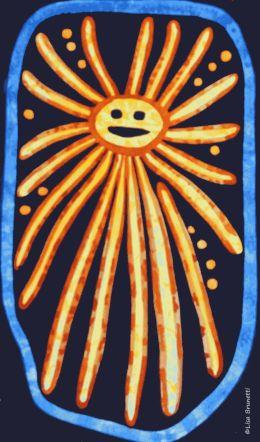Detail/Watercolor Jama Coaque Sonrisa