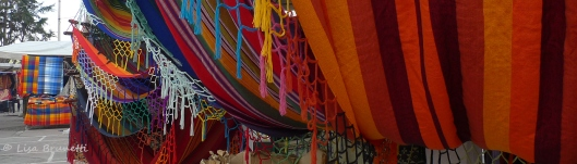 The explosive colors of Otavalo!