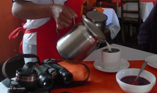 Hacienda Guachala - Cafe Con Leche, Anyone?