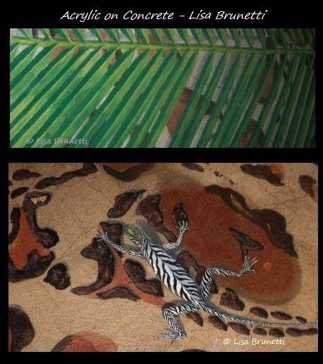 Custom floor - palm y zeeguana2