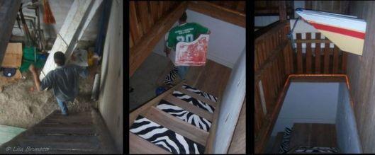 Riverhouse Steps - One, Two, Three!