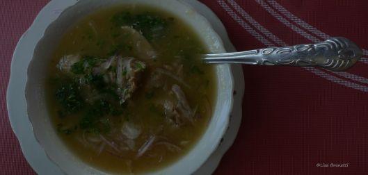 Encebollado - Restaurant Picanderia Omega 3 - Cruzita Ecuador
