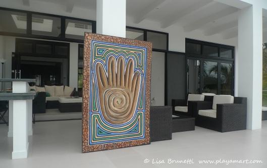 Mano Fuerte  - Home Sweet Home (4' x 6')