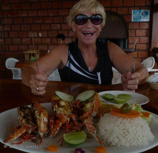 P1510532 barb y lobster dinner