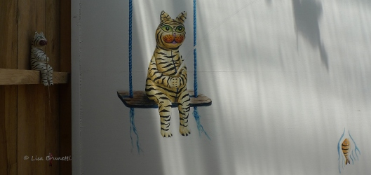It started with a fishing cat that my son gave me years ago!
