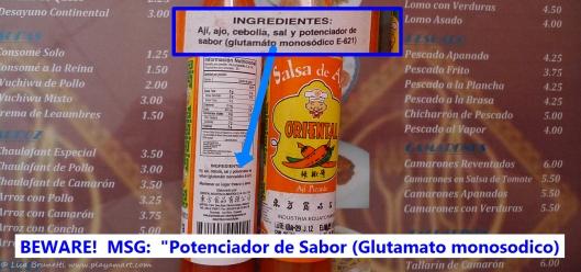 P1620850 MSG AJI HOT sauce