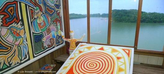 P1640022 mano rojo amarillo river house rio jama