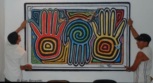 Tres Manos - Acrylic