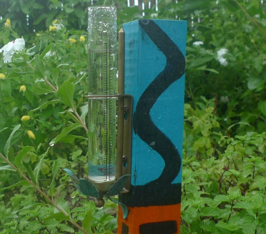 4.5 inches of rain fell in about  5 hours! *29/03/2013)