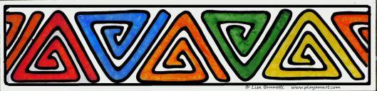 MOLA CENTER POST P1500057 BOOKMARK color