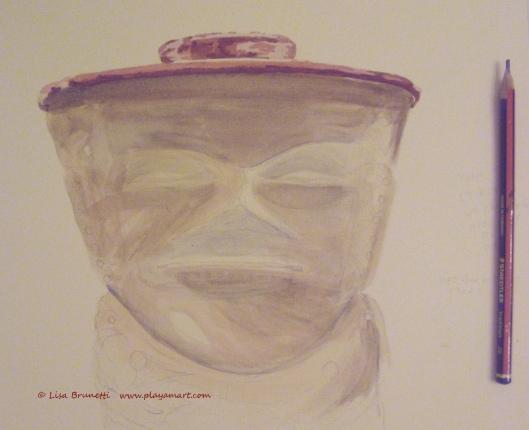Watercolor in prgress