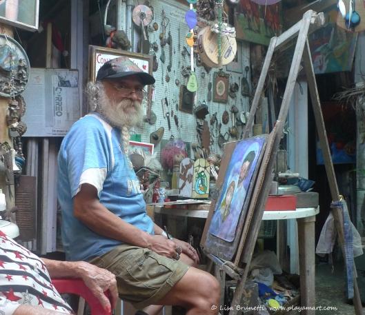 Manuel's surprise art museum -Guayaquil