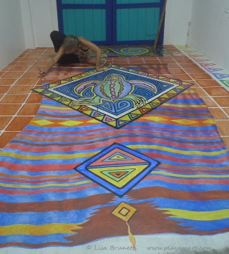 Fly away on the magic carpet!