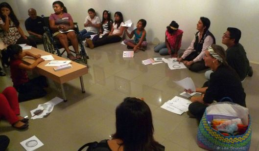 From a home for troubled girls, these students listened well and transferred their frustrations to the paper!