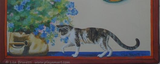 P1750046 cat restaurant painting