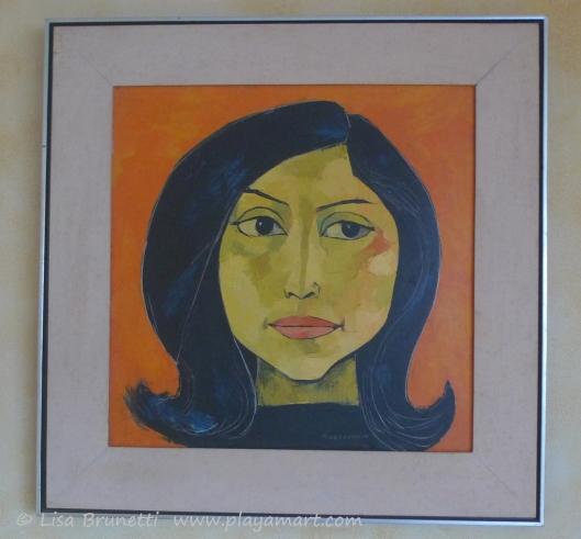 Guayasamin Portrait of Marta