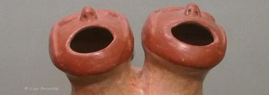 Pardon me, but it appears  that you have two faces...