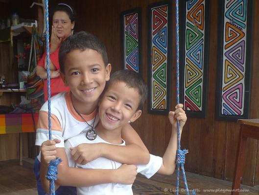P1720574 surprise visitors in swing