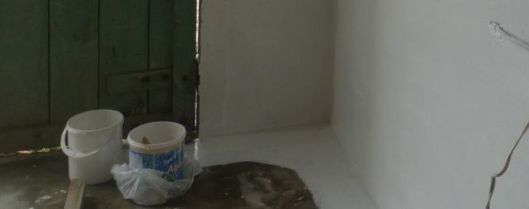 Agua Stop, a water blocker, helps seal concrete floors.
