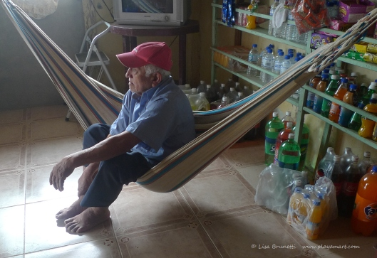 Arturo's personal carefree hammock!