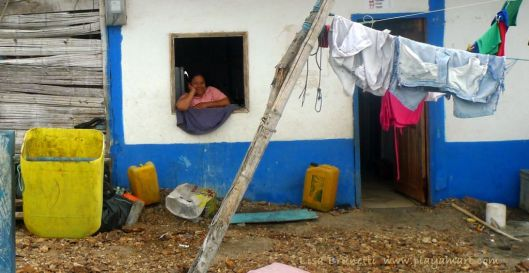 Will this woman's home survive the high tides?