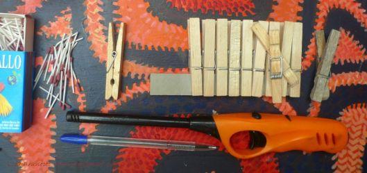 P1930535 matches clothespins lighter