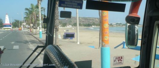 Leaving Salinas Ecuador