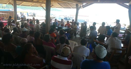 Fishermen, home owners, concerned neighbors from Jama - all join hnads and show a united front - What can we do about this?