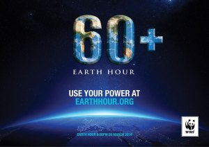 Earth Hour 2014.