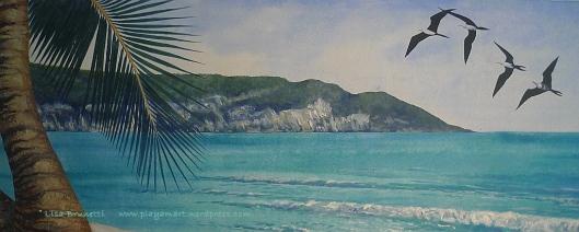 Detail - Punta Ballena - Acrylic -