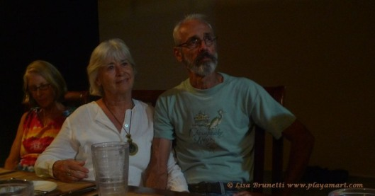 Hank and Marie, a dear couple that I nicknamed 'The Swans.""