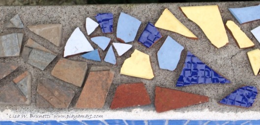 We embraced a new challenge - the art of mosaic tile!
