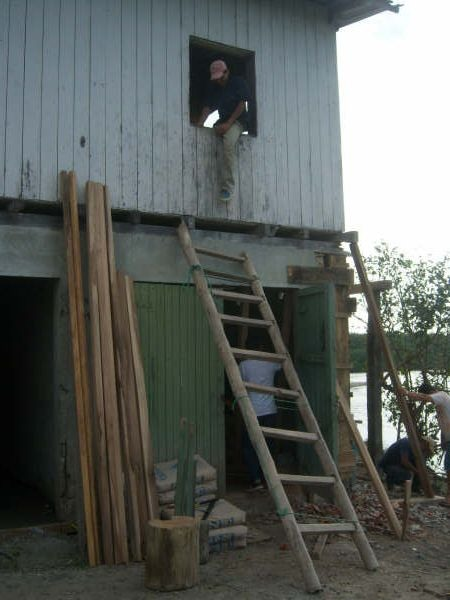 riverhouse bamboo ladder